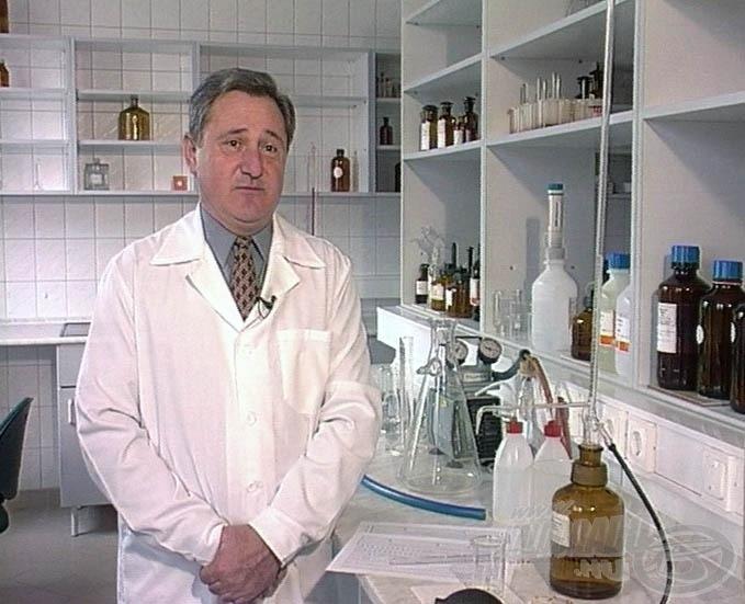 … és a laboratóriumban