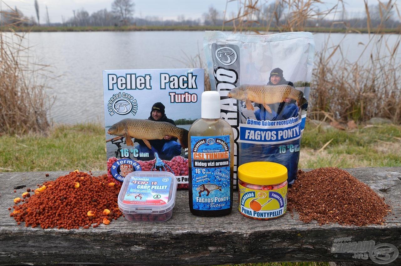 A Haldorádó hideg vízi horgászatokhoz kifejlesztett termékei