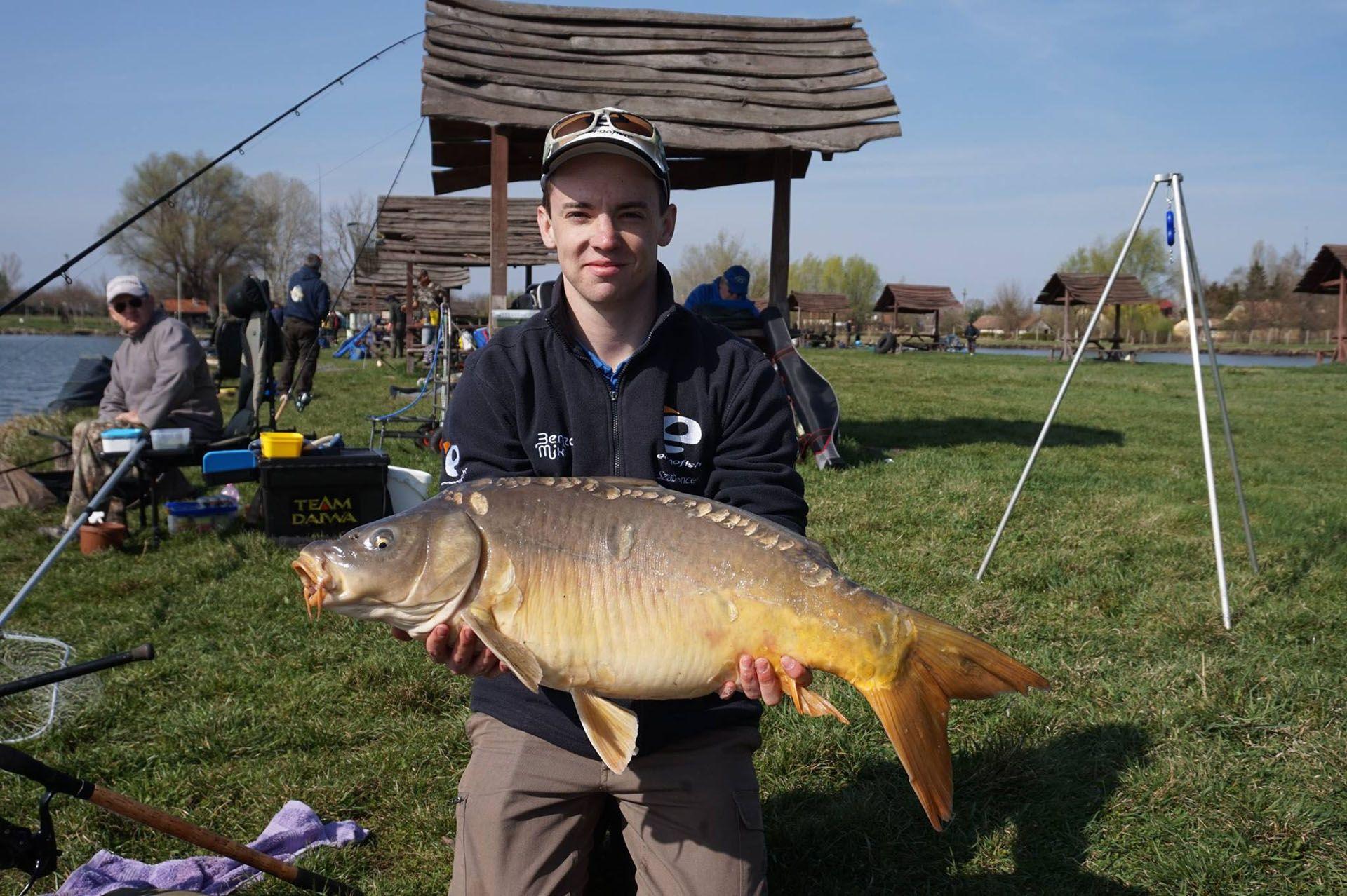 A legnagyobb halat Szabó Bence fogta, súlya 11.070 g volt