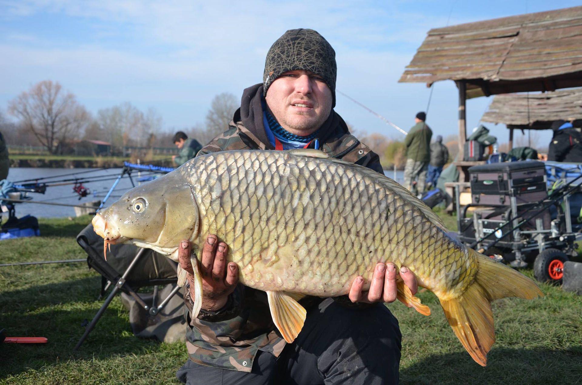 Szemes Csaba ezüstjéhez kellettek a 10+-os halak is