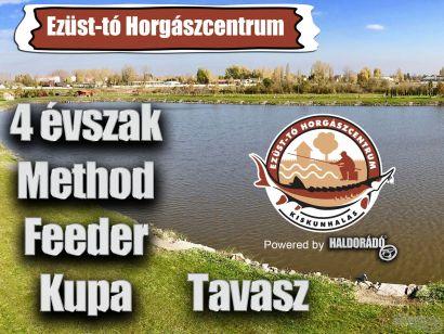 4 évszak Haldorádó Method Feeder Kupa 2018 versenysorozat kiírás - Tavasz