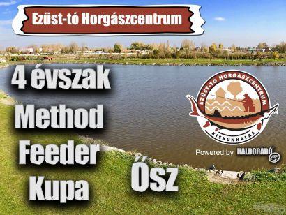 4 évszak Haldorádó Method Feeder Kupa 2020 versenysorozat kiírás – Ősz
