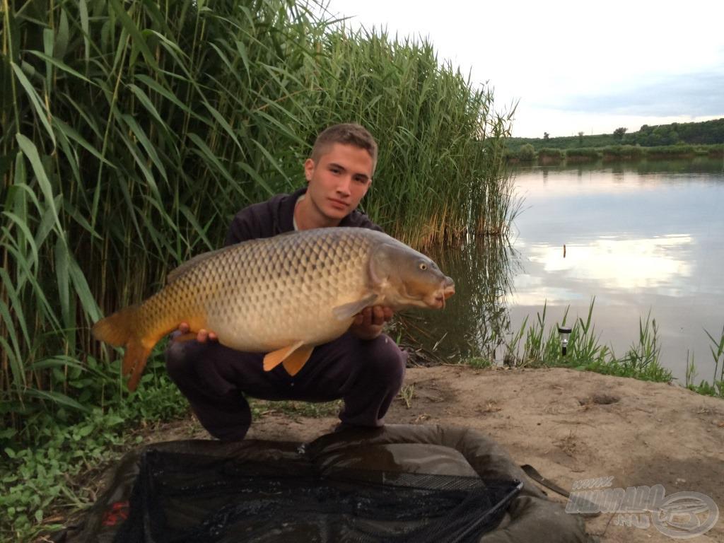 10,5 kg, a túra legnagyobb hala