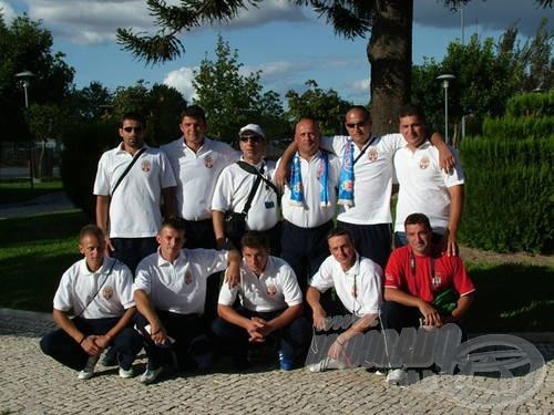 Szerbia pontyfogó válogatottja is közöttük volt