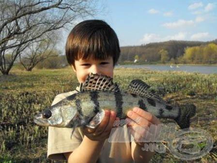 A horgásznak újdonság volt ez a faj - legközelebb már ismerősként üdvözölheti