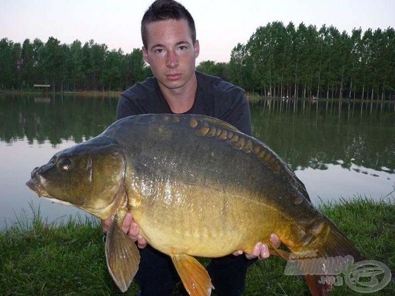 Életem első 10 kiló feletti hala, egy hibátlan tükrös