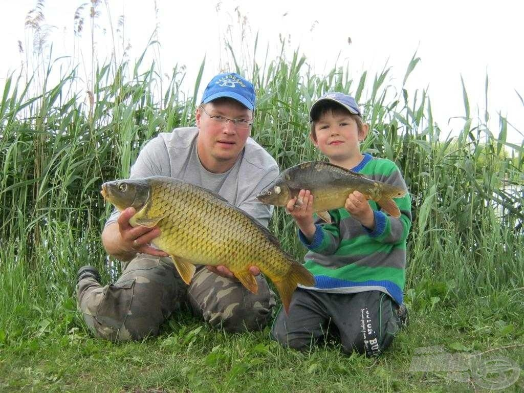 A Dajnics Fishing Team akcióban!