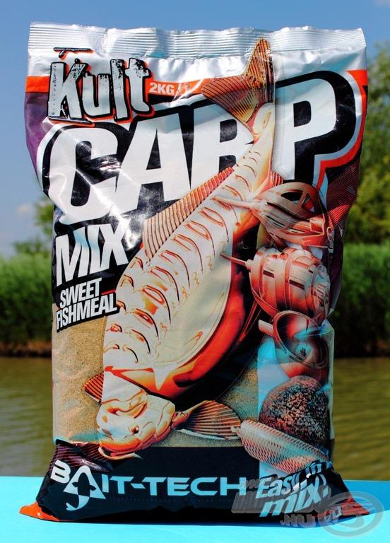 A Kult Carp Sweet mix hallisztes, édes ízű etetőanyag…