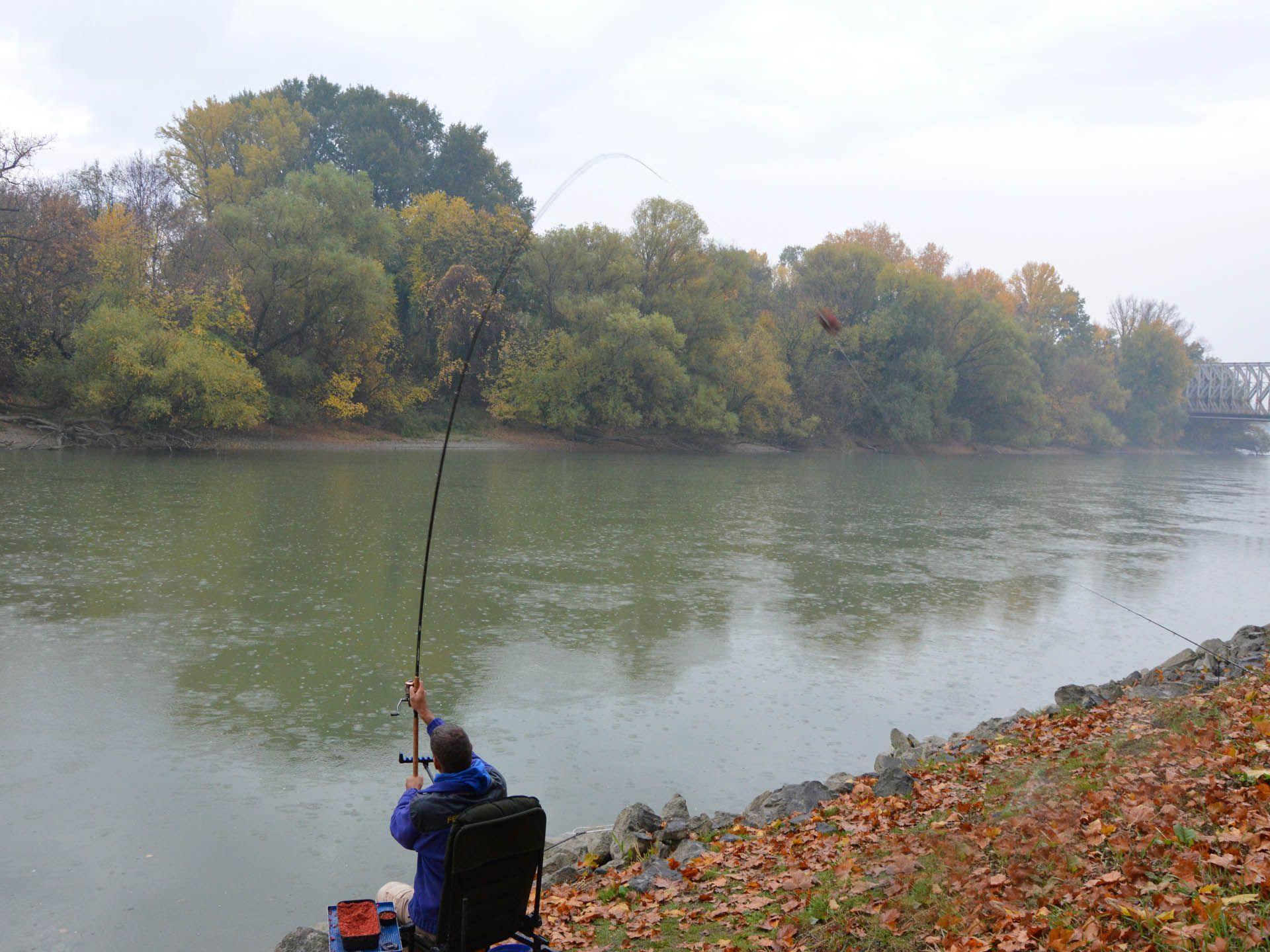 A legtöbb horgásznak a hatalmas súlyok dobása is már gondot szokott okozni