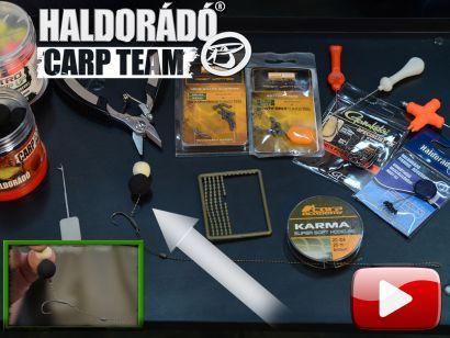 A Haldorádó Carp Team kötései, végszerelékei 2. rész – Snowman rig, azaz hóember előke