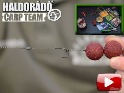 A Haldorádó Carp Team kötései, végszerelékei 4. rész – Blowback rig, azaz visszacsapódó előke