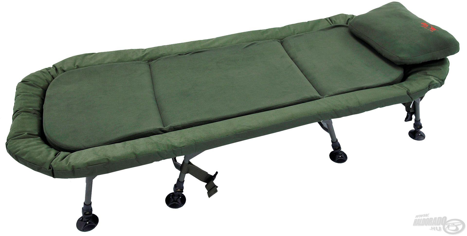 Rendkívül kényelmes, prémium kivitelű bojlis ágy