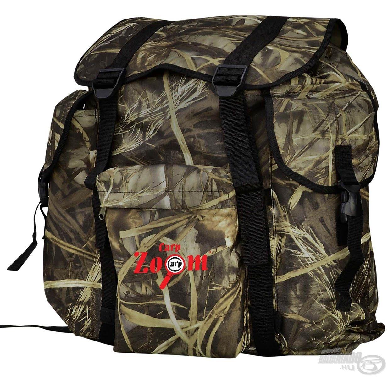 Az egyedi, különleges táskákat kedvelő horgászoknak és természetjáróknak remek választás ez az esőálló hátizsák