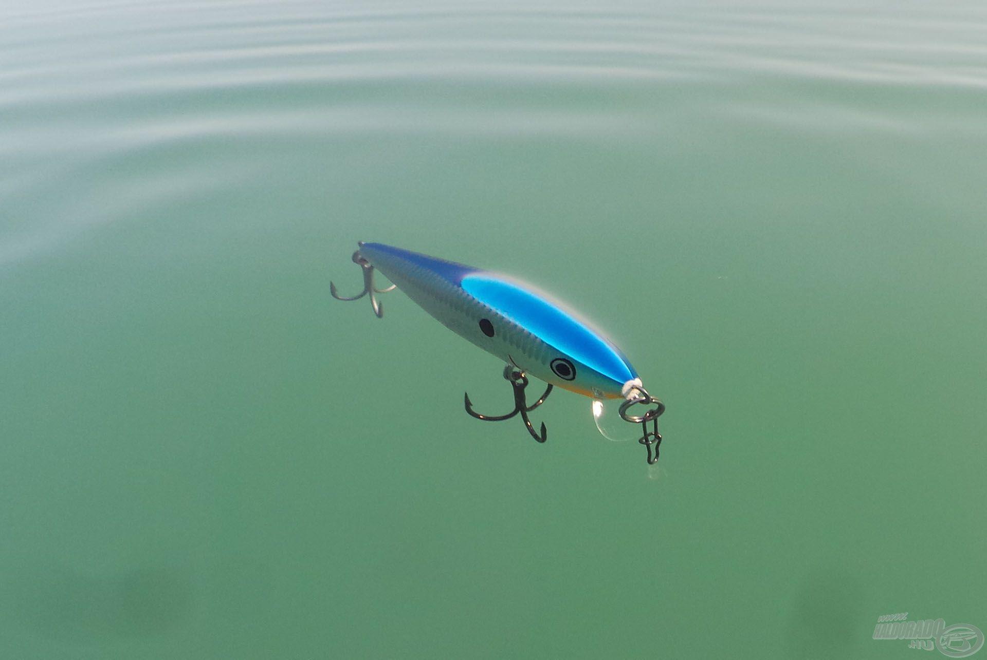 Az úszó kivitel is hozzájárul ahhoz, hogy ideális legyen balinpergetéshez