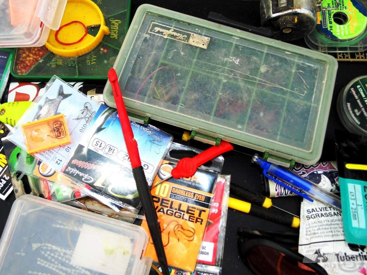 A dobozomban uralkodó látszólagos káosz ellenére is megtalálok minden aprócikket benne, amire szükségem lehet