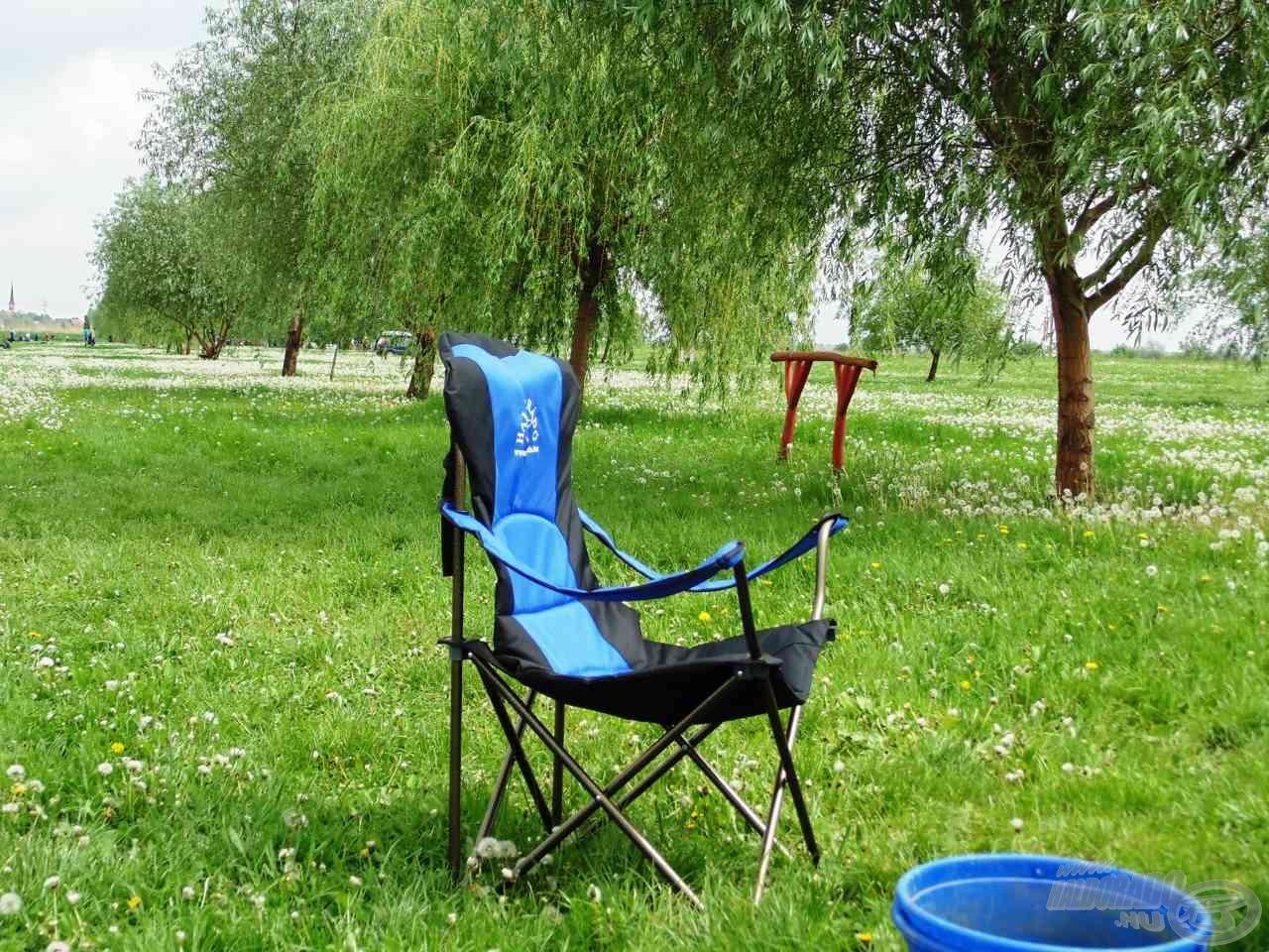 A Haldorádó Comfort plusz fotel nemcsak kényelmes, de roppant tetszetős is