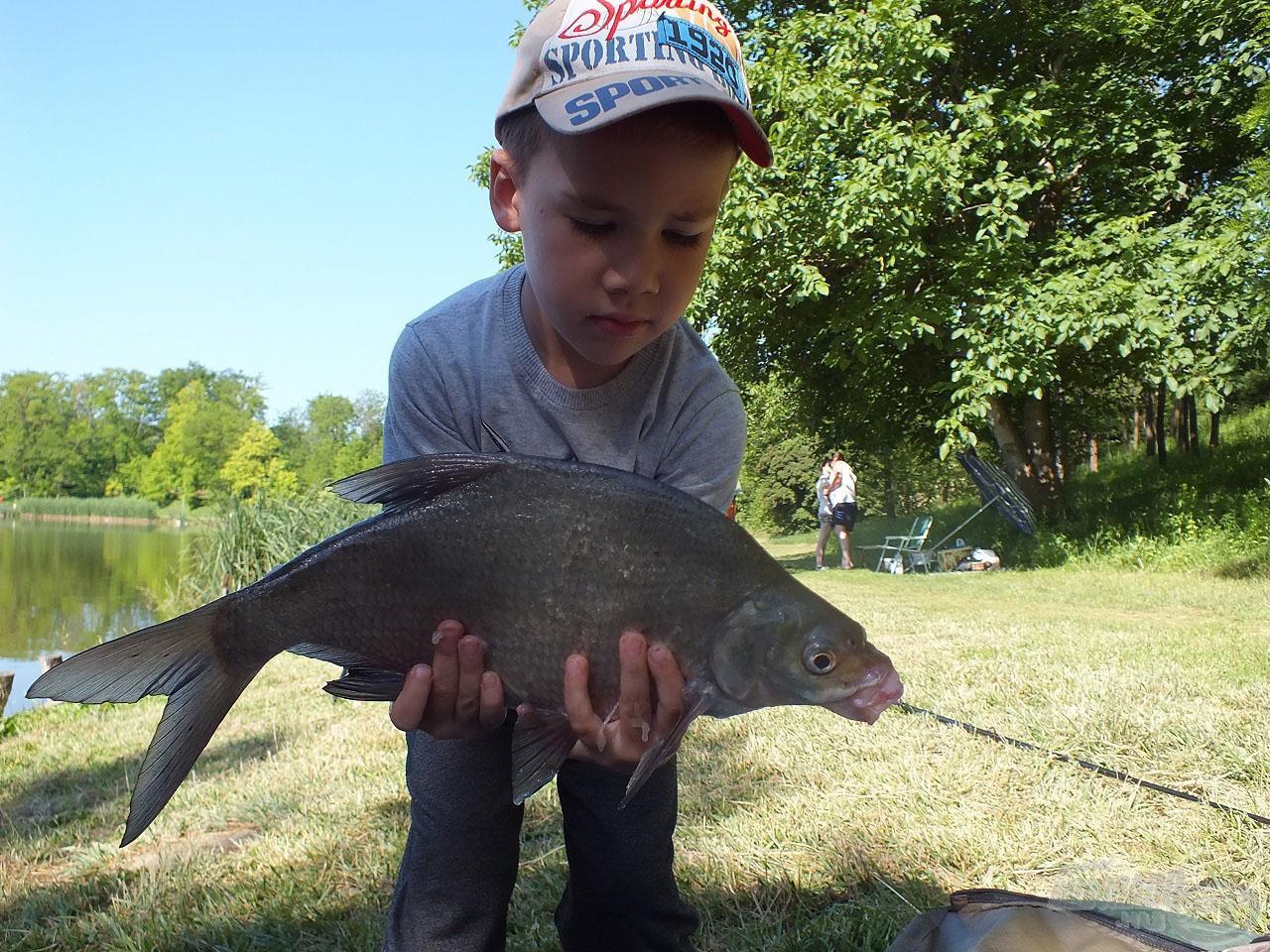 Az első mai hal