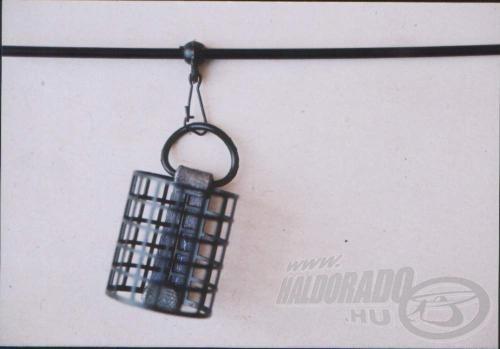 A legtöbbet használt kellék: egyenes gubancgátlócső