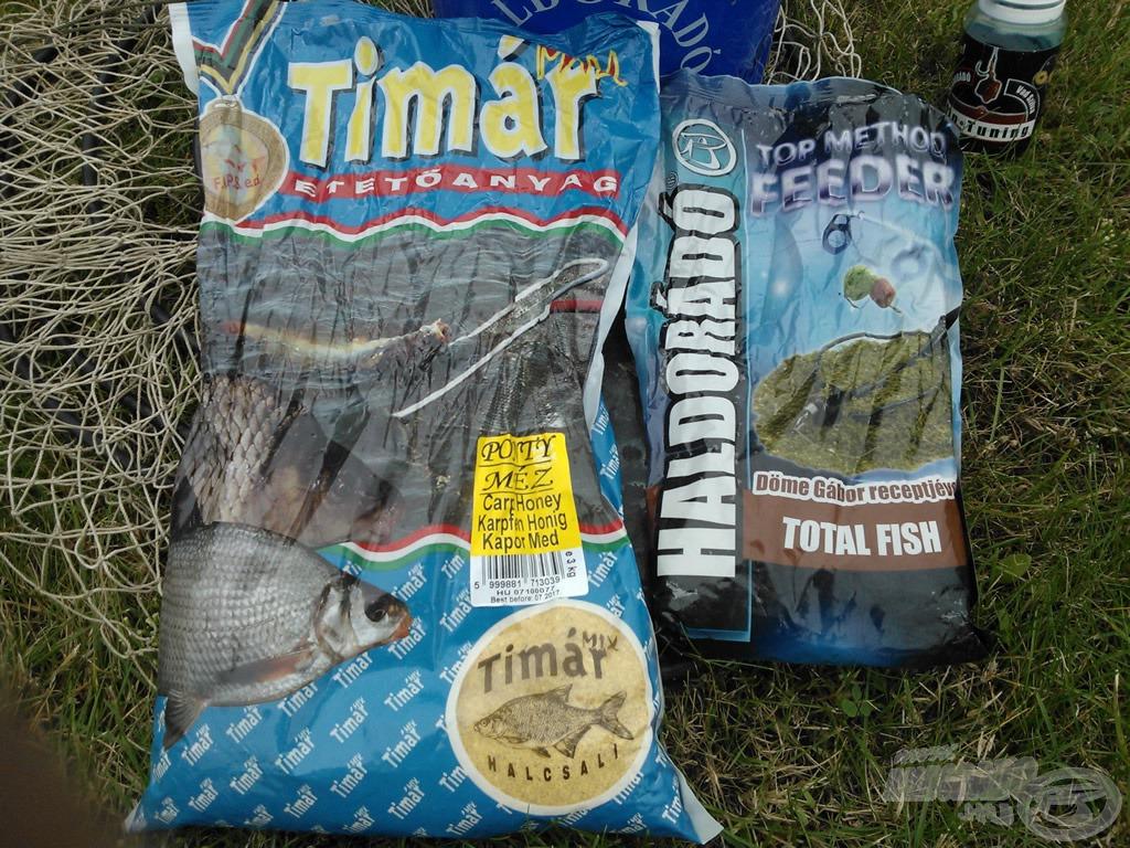 Fogósnak bizonyult a mézes Timár Mix és az 3:1 arányban kevert Carp Berry - Total Fish Top Method is