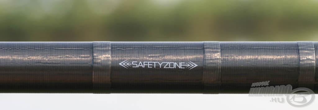 Safety Zone védi a top szett nyelét az összeroppantástól