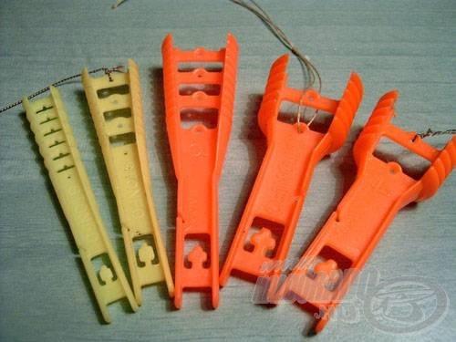 Stonfo cég gumirögzítő létrái (balról 1, 2, 3, 4)