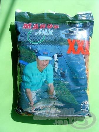 A Maros Mix XXL nagyszemcsés etetőanyag, amelyet nevének megfelelően főleg a darabosabb keszegeket köti le