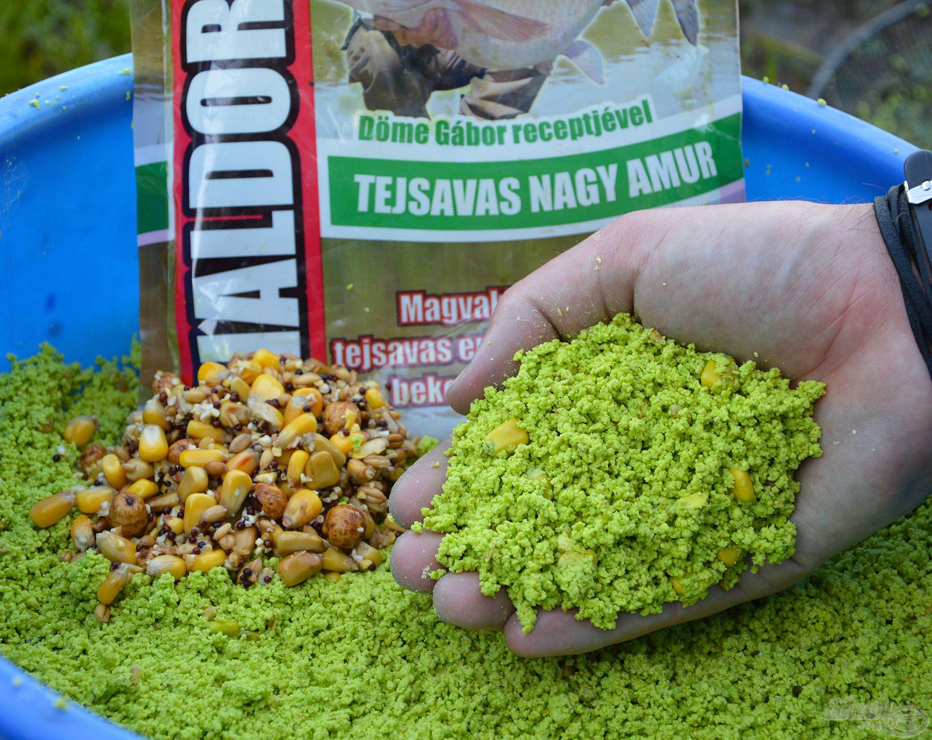 Az egyik legfogósabb és legegyszerűbben elkészíthető amuros etetőanyag!
