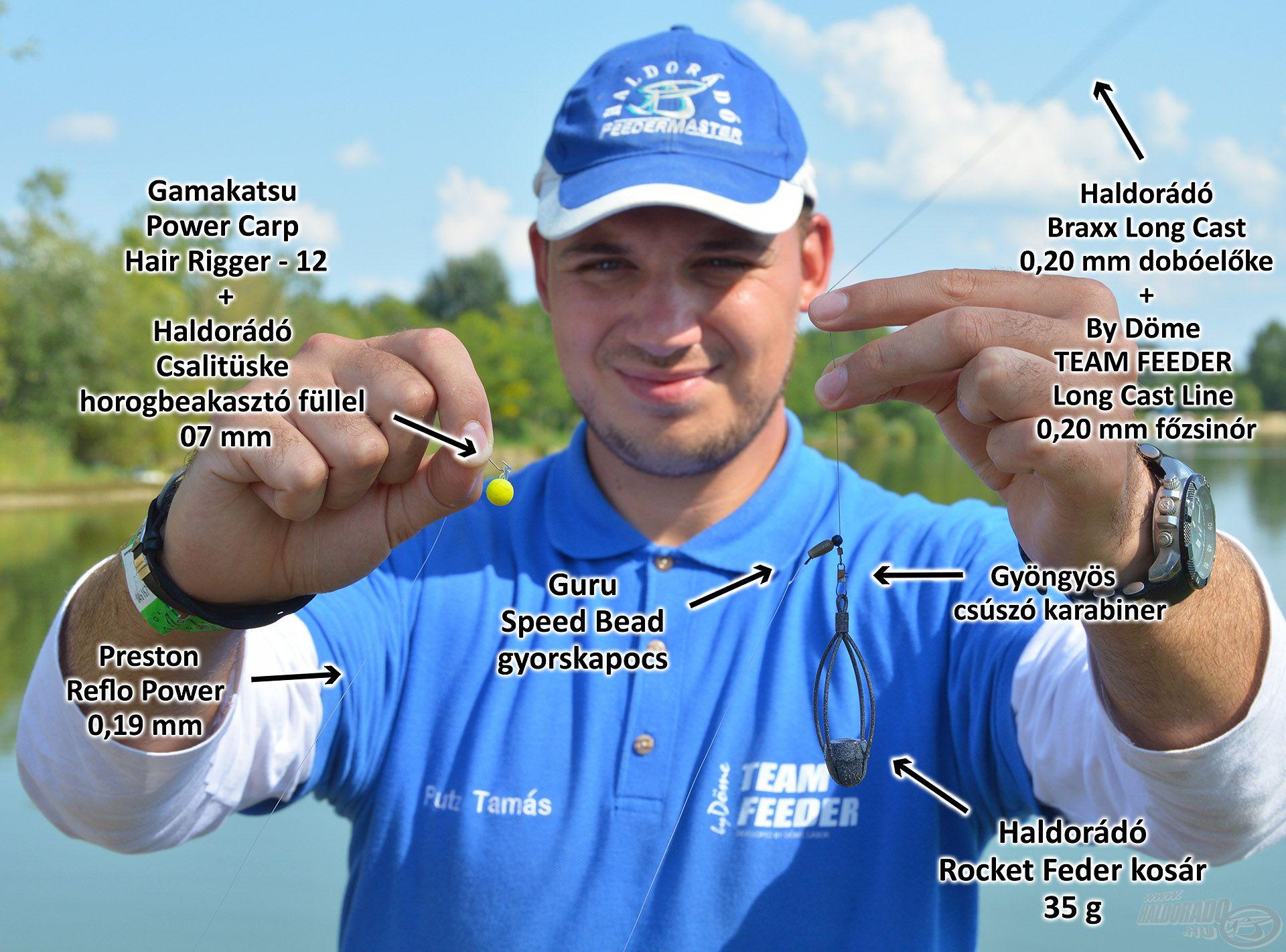 Végszerelékjavaslatom, vízközti horgászathoz