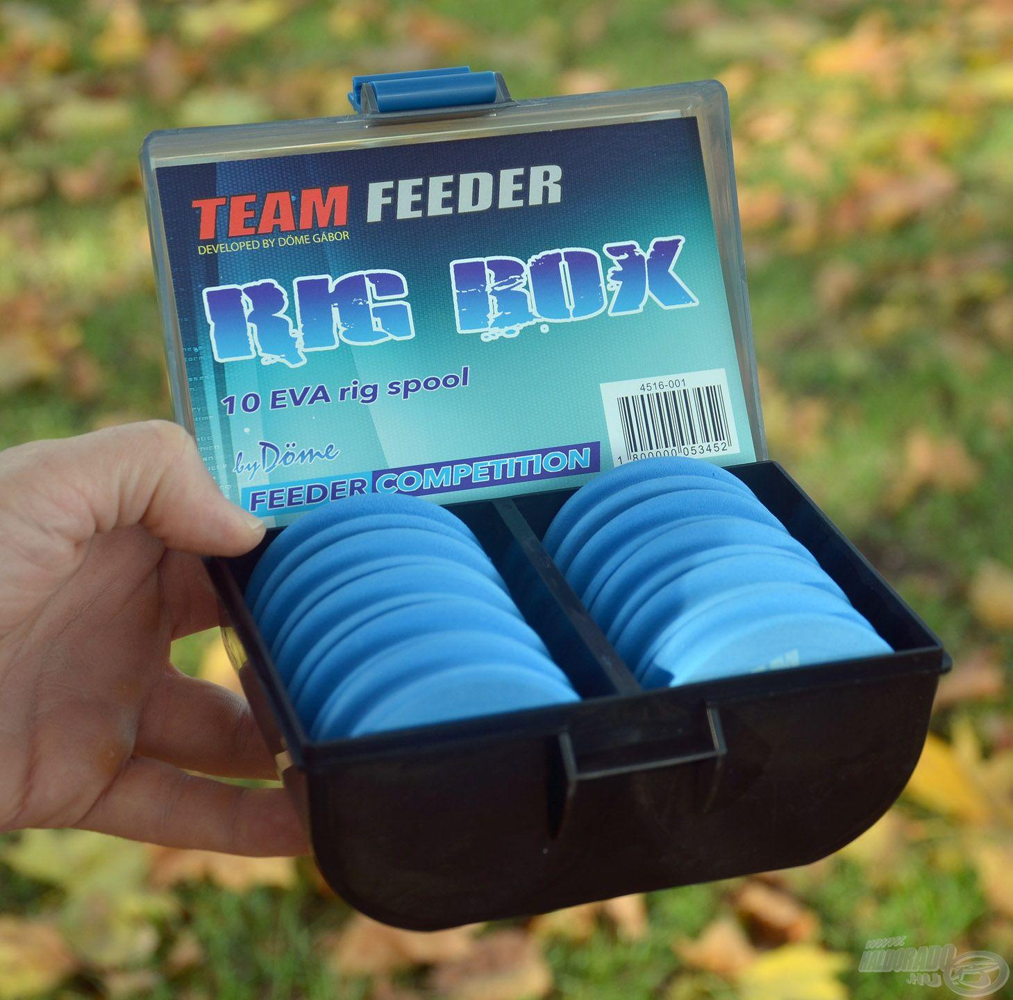Az új By Döme TEAM FEEDER Előketartó doboz nagyon praktikus kiegészítő