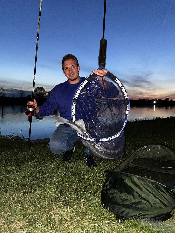 Akár a rövid, néhány órás horgászatok is eredményt hozhatnak