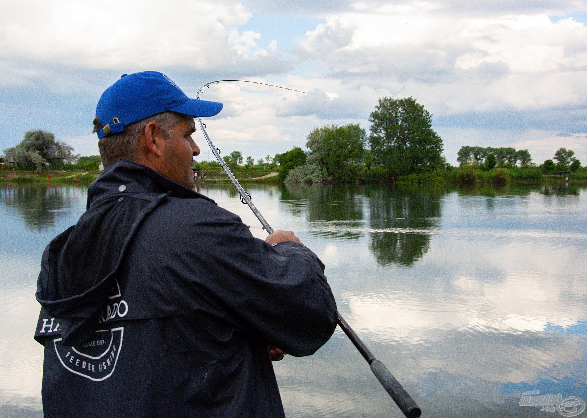 Nagytestű halak horgászatához a Master Carp széria a jó választás