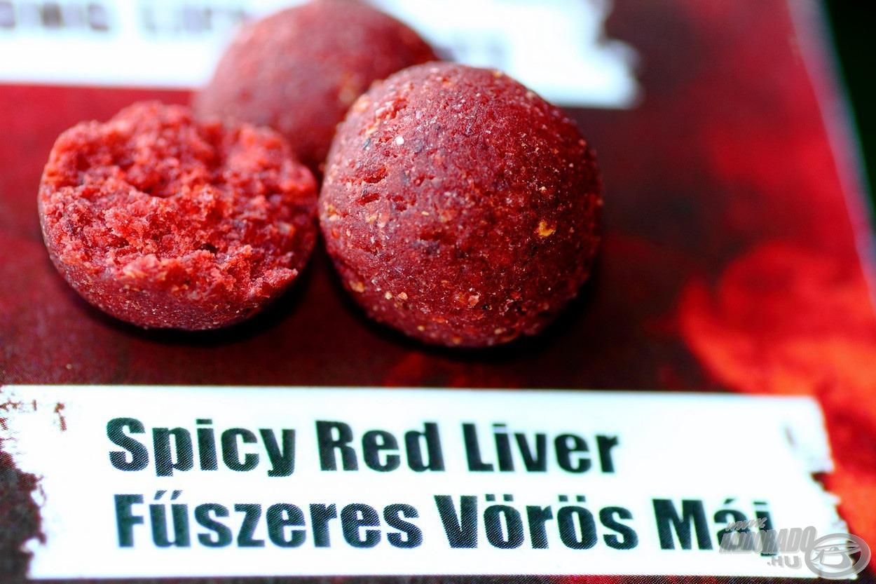 A Fűszeres Vörös Máj ízvilág immár mindenki számára elérhető! Ellenállhatatlan új csali család, kifejezetten a szelektív nagyponty-horgászathoz