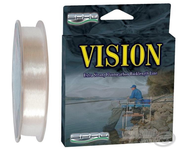 A Spro Vision Line kivételes adottságokkal rendelkező új, a vízben láthatatlan, fluorocarbon előkezsinór