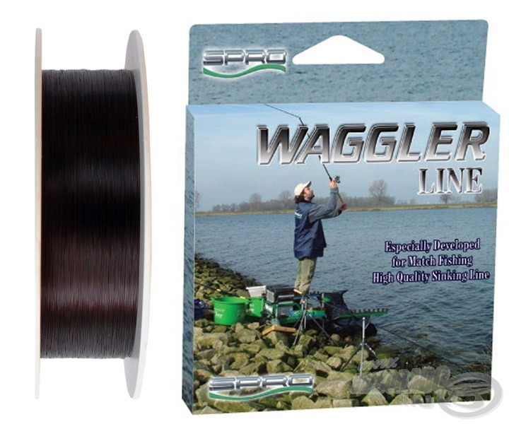 A Spro Waggler Line speciálisan matchbotos horgászatra kifejlesztett, új merülő főzsinór