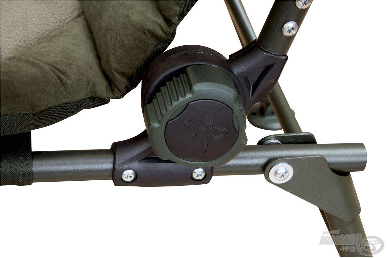 Erős vázszerkezet biztosítja a fotel stabilitását