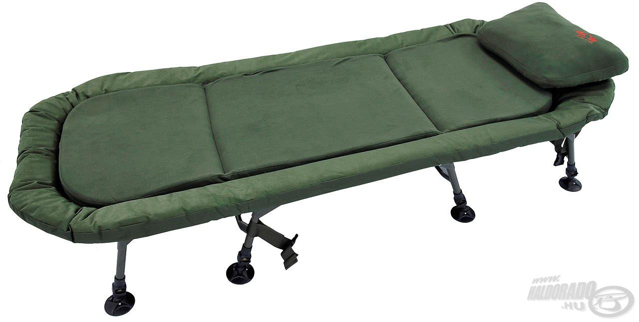 Nagy terhelhetőségű, extra kényelmes ágy