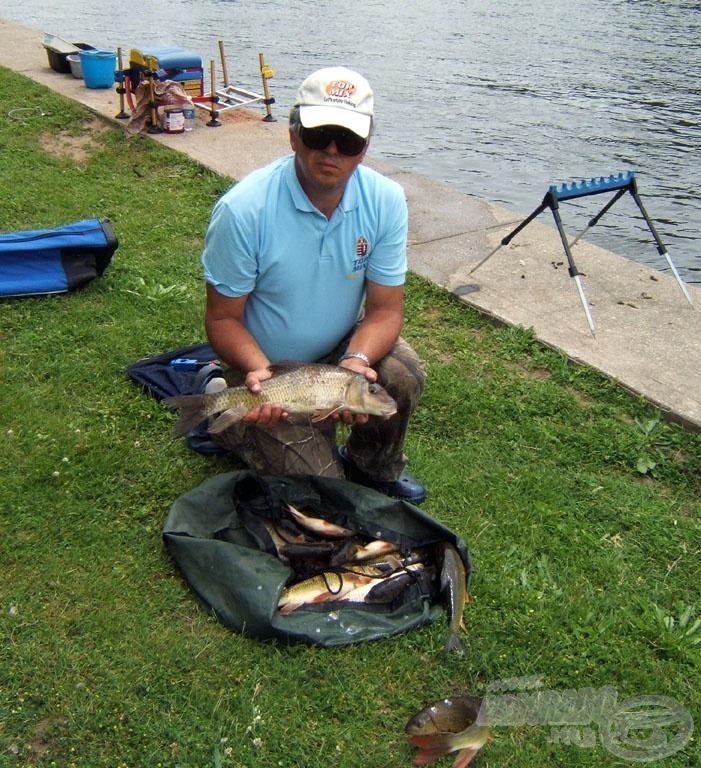 A második fordulóban is sikerült megnyerni a szektort, melyhez ilyen halak is kellettek