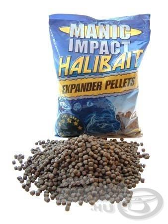 Manic Impact Halibait pellets…