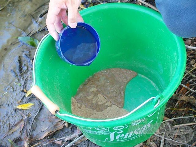 A küszöző etetőanyagok sok vizet vesznek fel