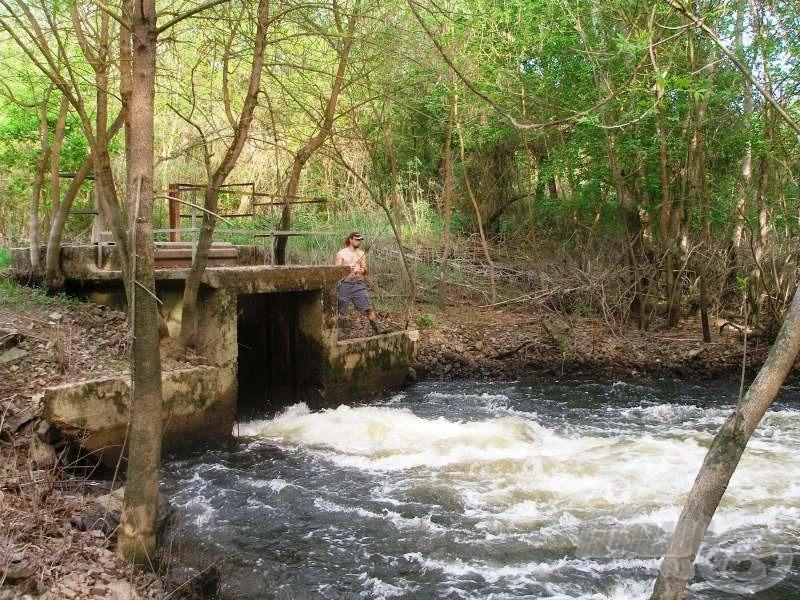 A Bodrogzug árterének egyik legjelentősebb vízlevezető csatornája