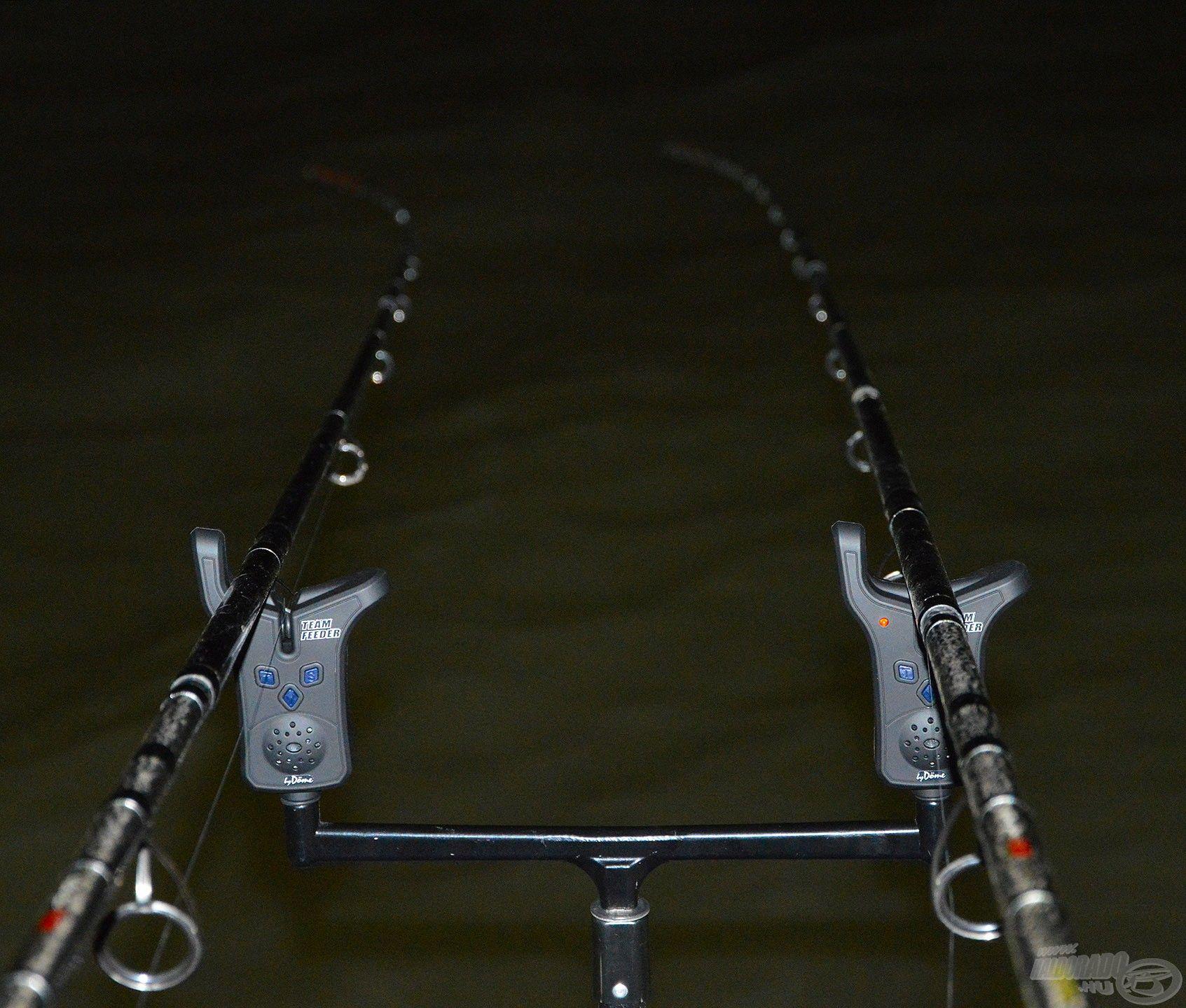 Ha a horgász elfárad és pihenni szeretne, sokkal kényelmesebb, nyugodtabb pecát tesz lehetővé