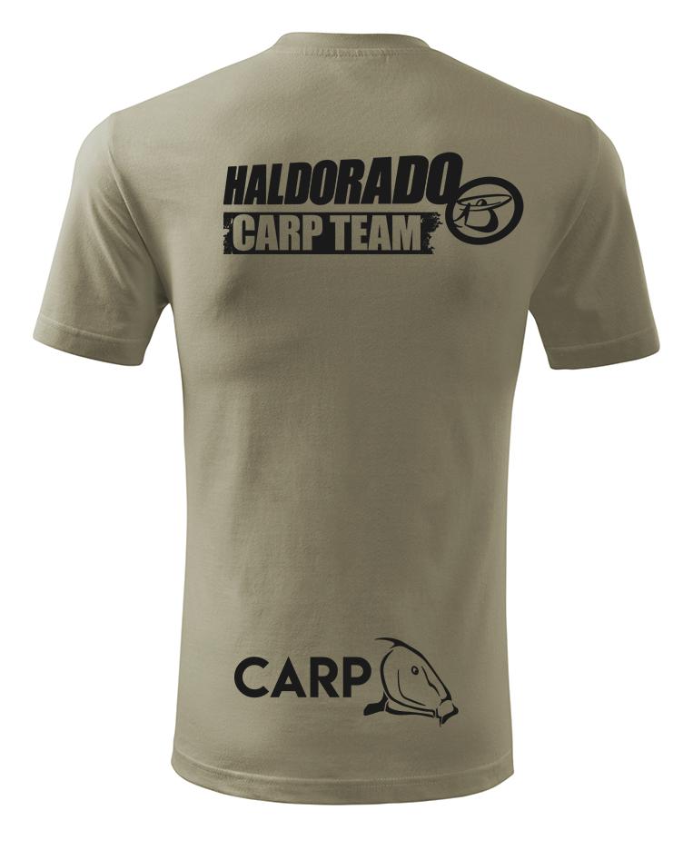 A hátoldalon található Carp Team logó alá még került egy kis újdonság
