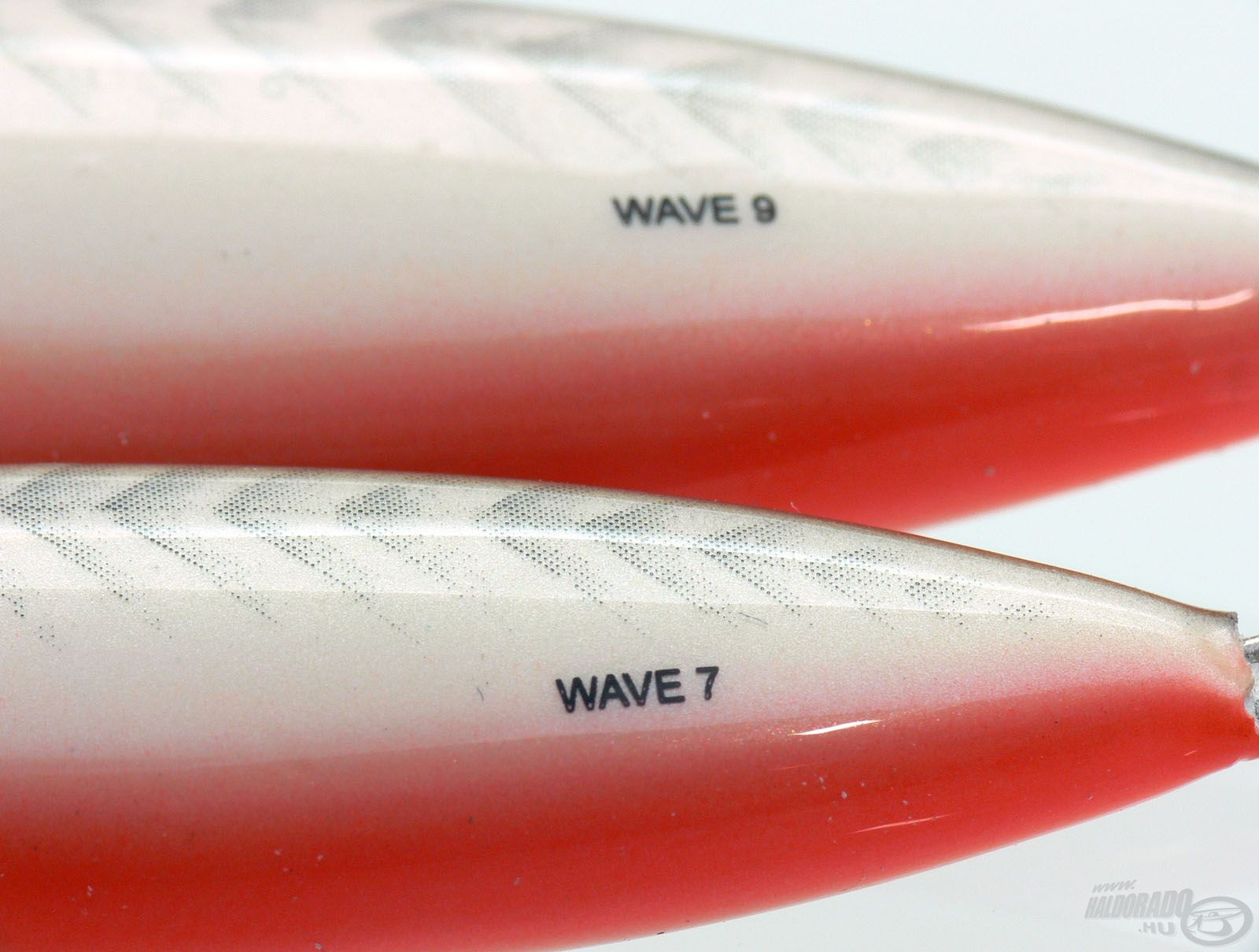 Két különböző, 7 és 9 cm-es méretben áll a horgászok rendelkezésére