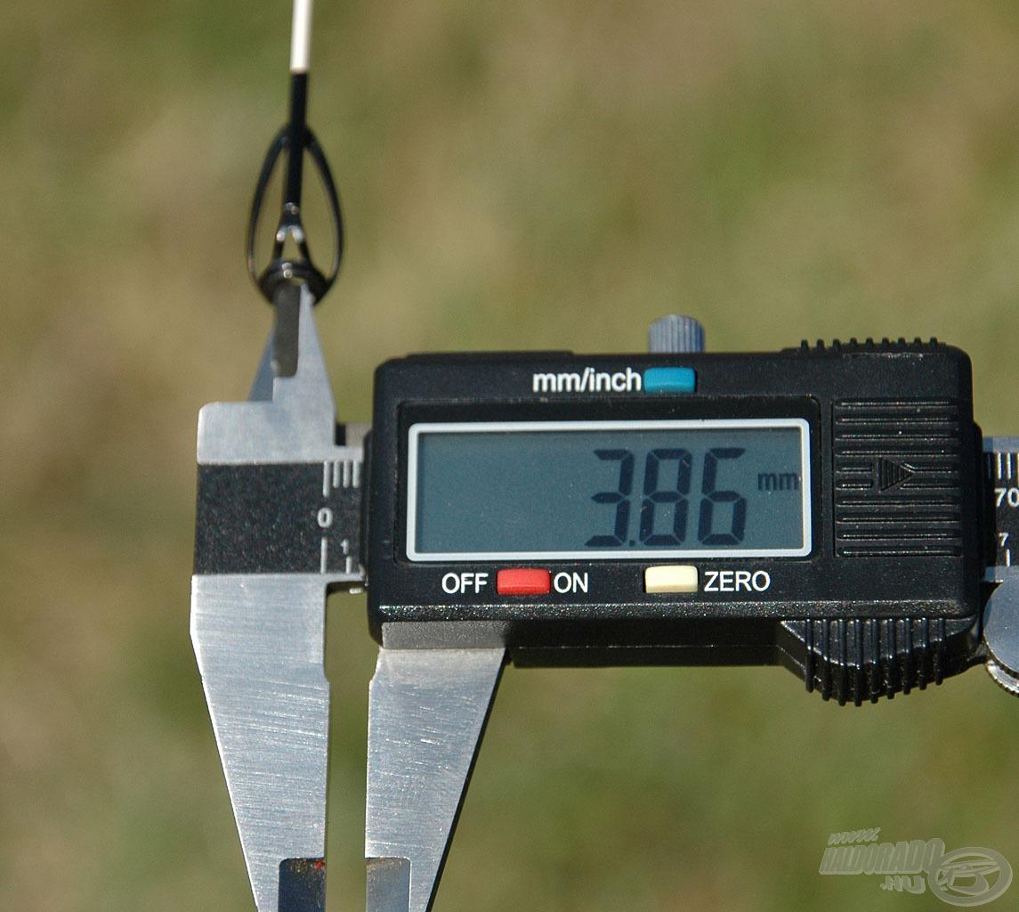Ezek belső átmérője 3,86 mm