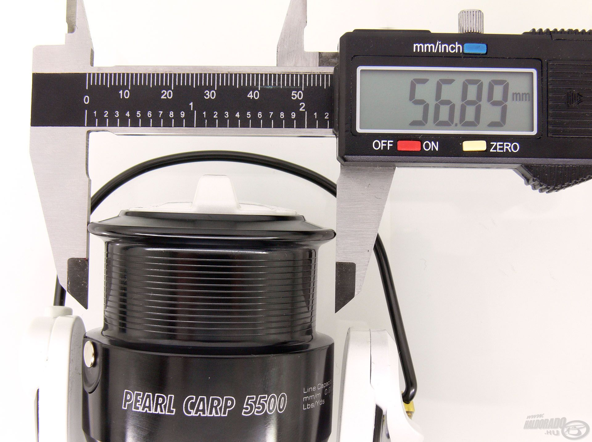 A család középső, 5500-as tagjának dobátmérője 56,89 mm