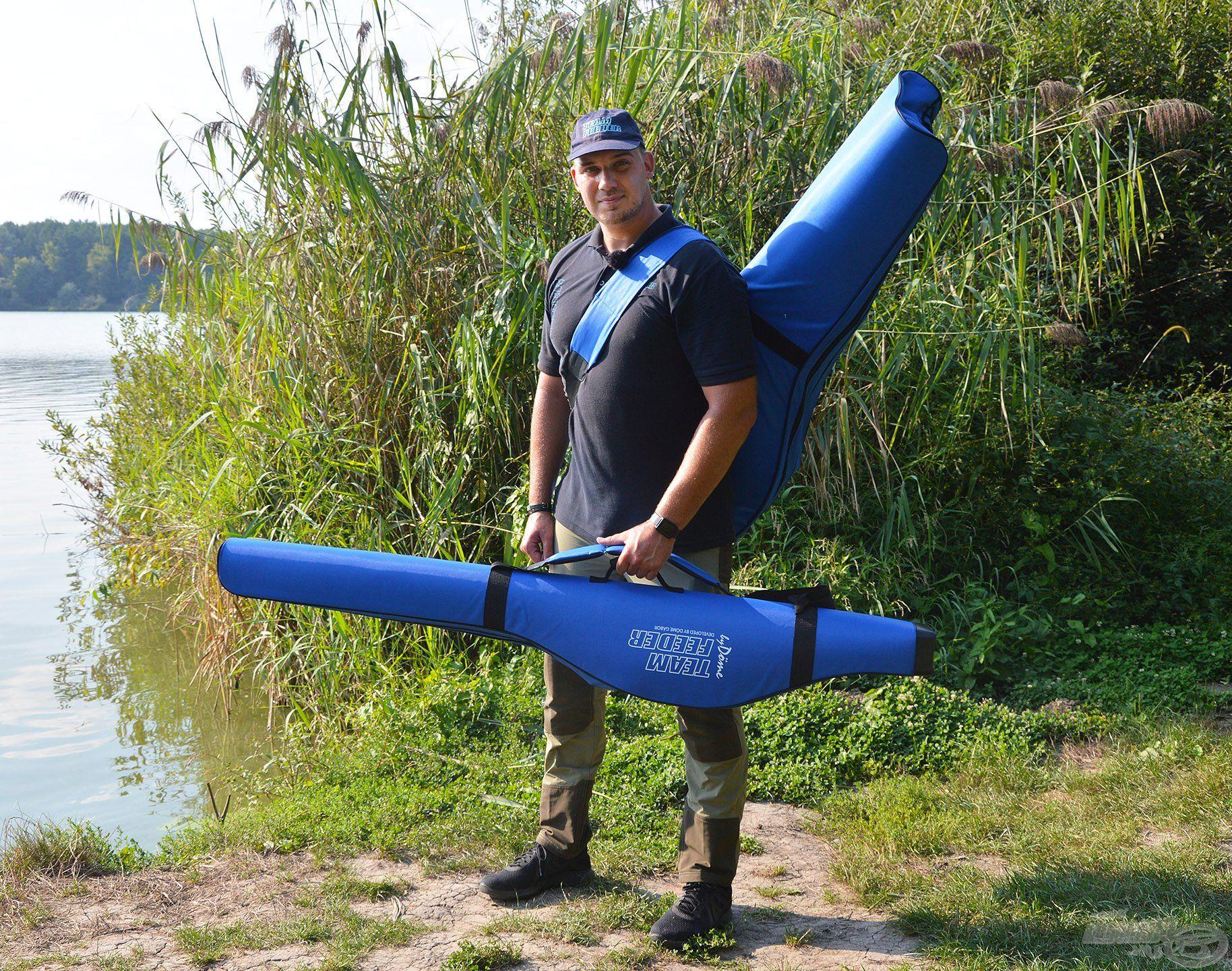 Mindkét méret kiváló társ a horgásztokhoz! Funkcionalitásuk különösen felértékelődik, ha a felszereléseket gyalog kell becipelni a horgászhelyre