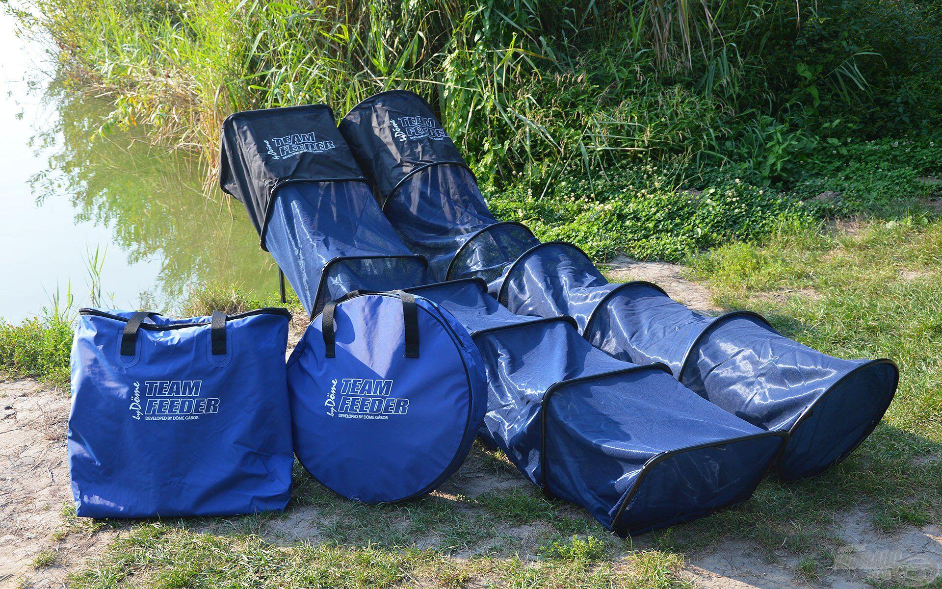 A kiváló minőségű TEAM FEEDER EVA Száktartó táskák a By Döme táskakollekció egyik leghasznosabb darabjai! Ahogy a versenyszákok, ezek is két különféle kialakítással, szögletes és kerek formában készülnek