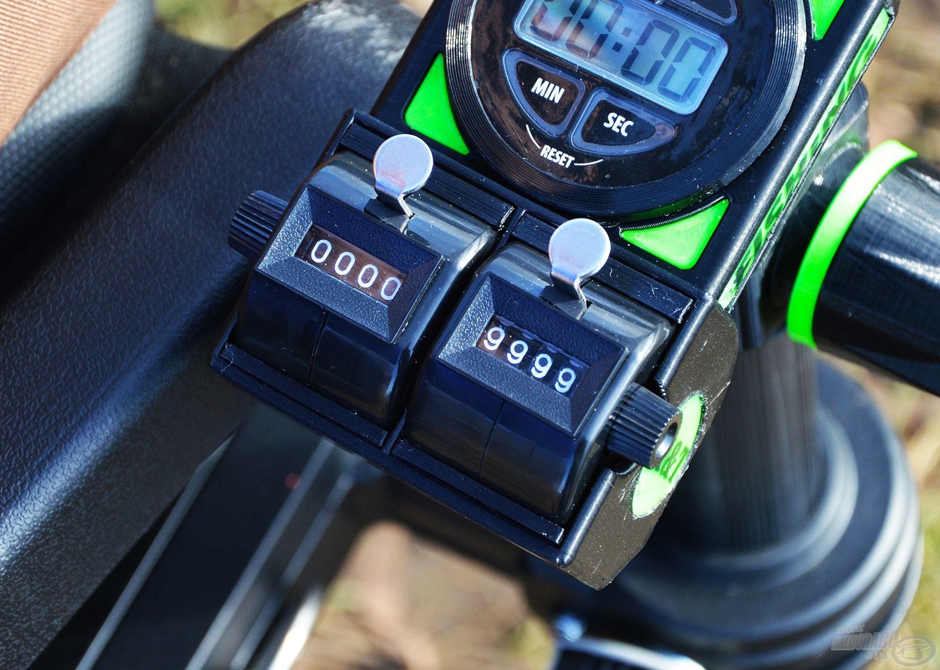 A mechanikus kézi számlálók 0000 és 9999 közötti értéken tudnak számolni