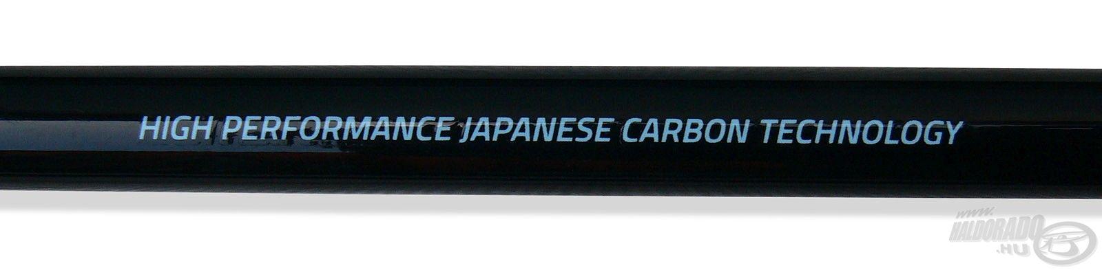 Japán karbon technológiával készül a botcsalád, melynek IMT-10 Power Carbon az alapja