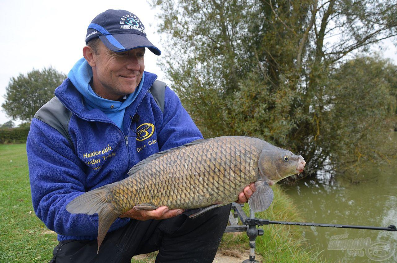 … ebből adódóan a kisebb méretű halak fárasztása is rendkívül élvezetes a használatával